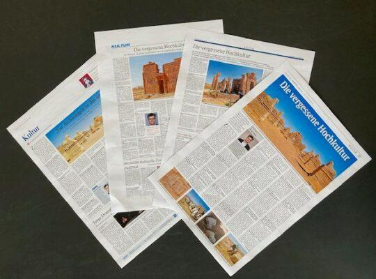 Auswahl von Presseberichten zum Naga-Projekt